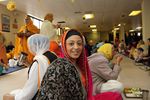 sikh, vaisakhi, gurdwara, indian, derby news, normanton