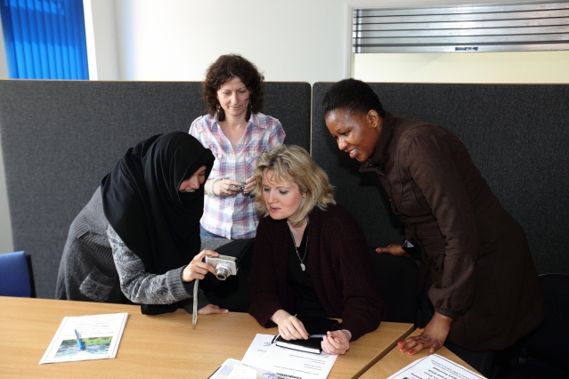 Derby News refugee asylum seeker migrant photography training
