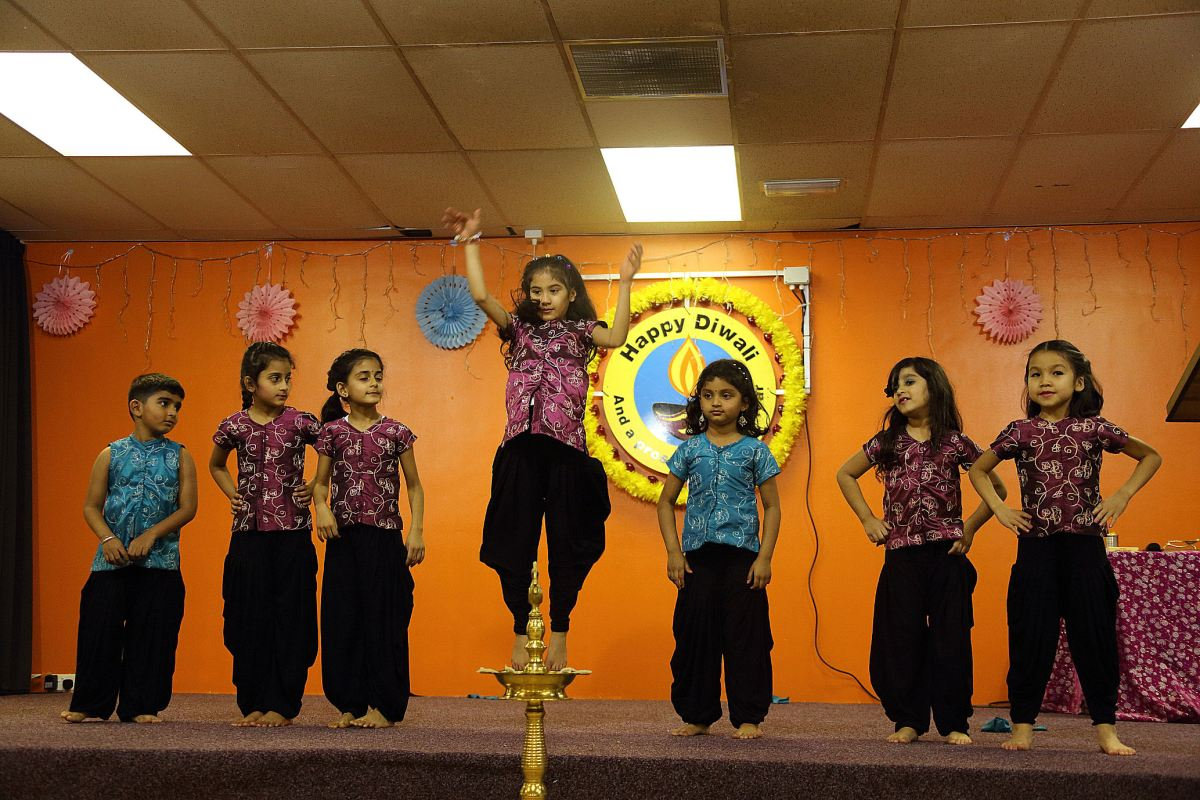 Diwali : Festival of light at Derby Hindu Temple
