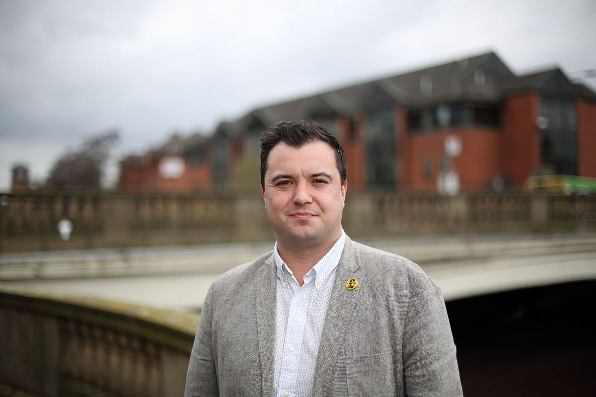 Interview - Rob Cooper: Derby City Council UKIP Candidate ; Mackworth