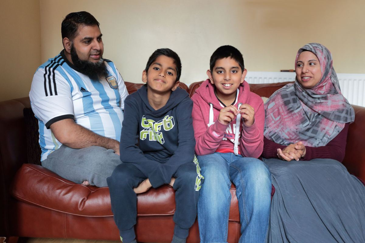 A Muslim family's  view of Ramadan; the Islamic month of fasting.