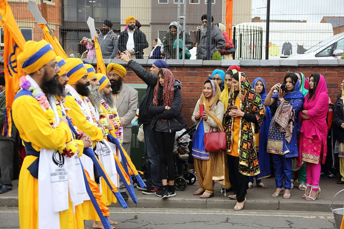 Vaisakhi celebration in Derby's Sikh community 2017