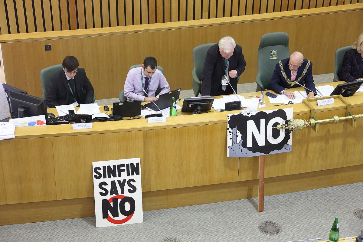 Sinfin Incinerator termination option : Victory for democracy and common sense