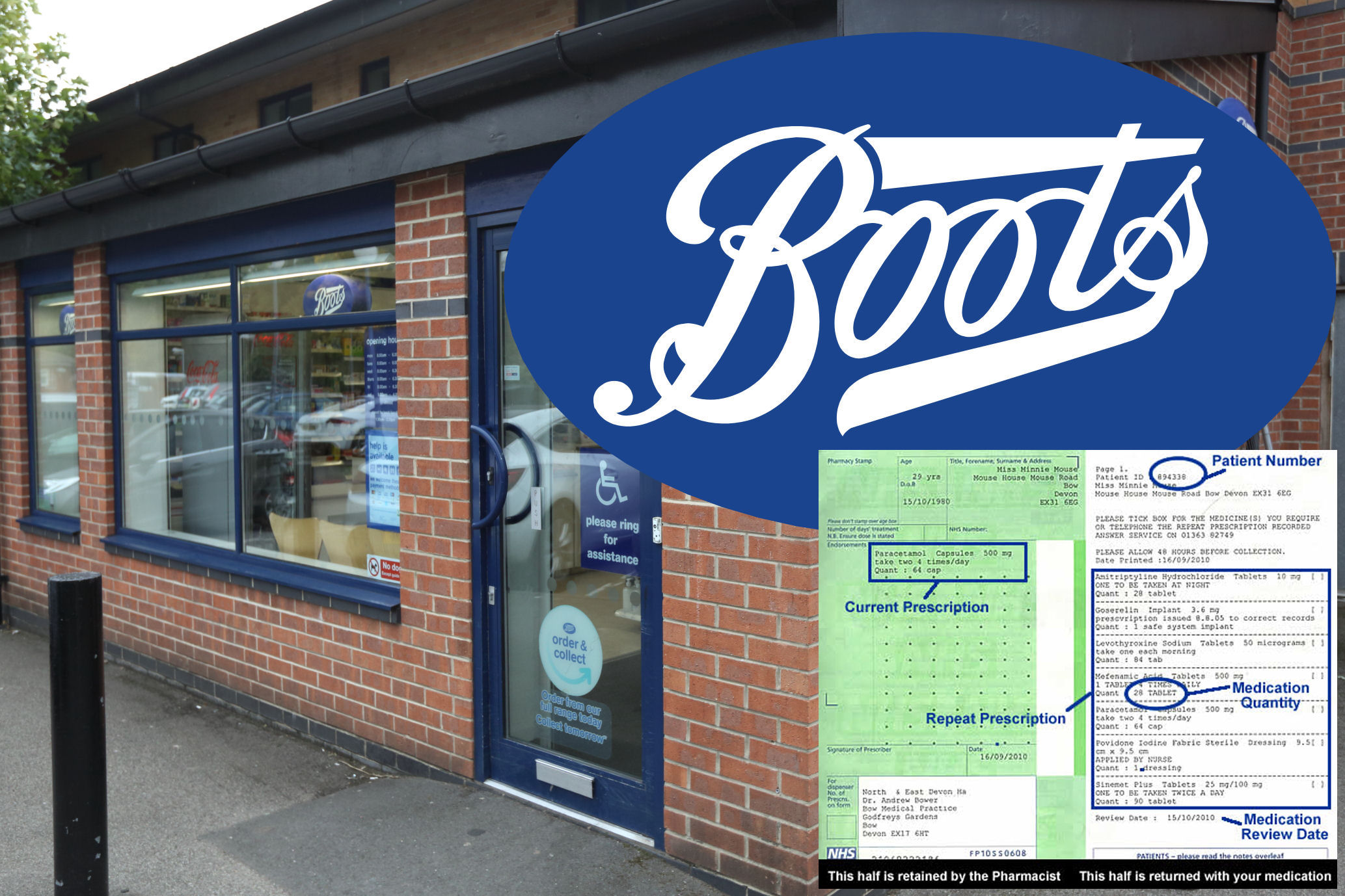 """e8991be7d248 Derby News reported a few days ago about how Boots were back-pedalling in  the Derby Telegraph article on the issue of lost """"prescriptions tokens""""  from its ..."""