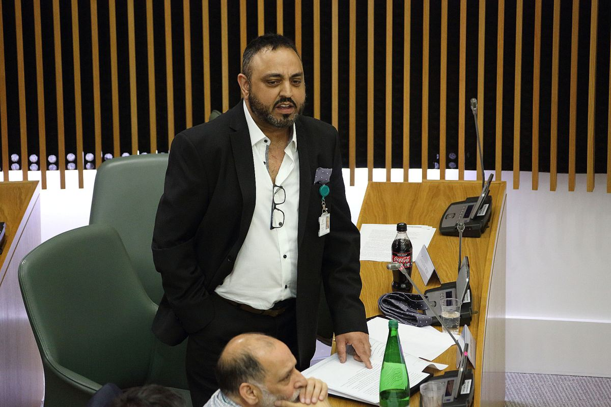 A slur made about Cllr Amo Raju's disability leads to a positive outcome for the Council